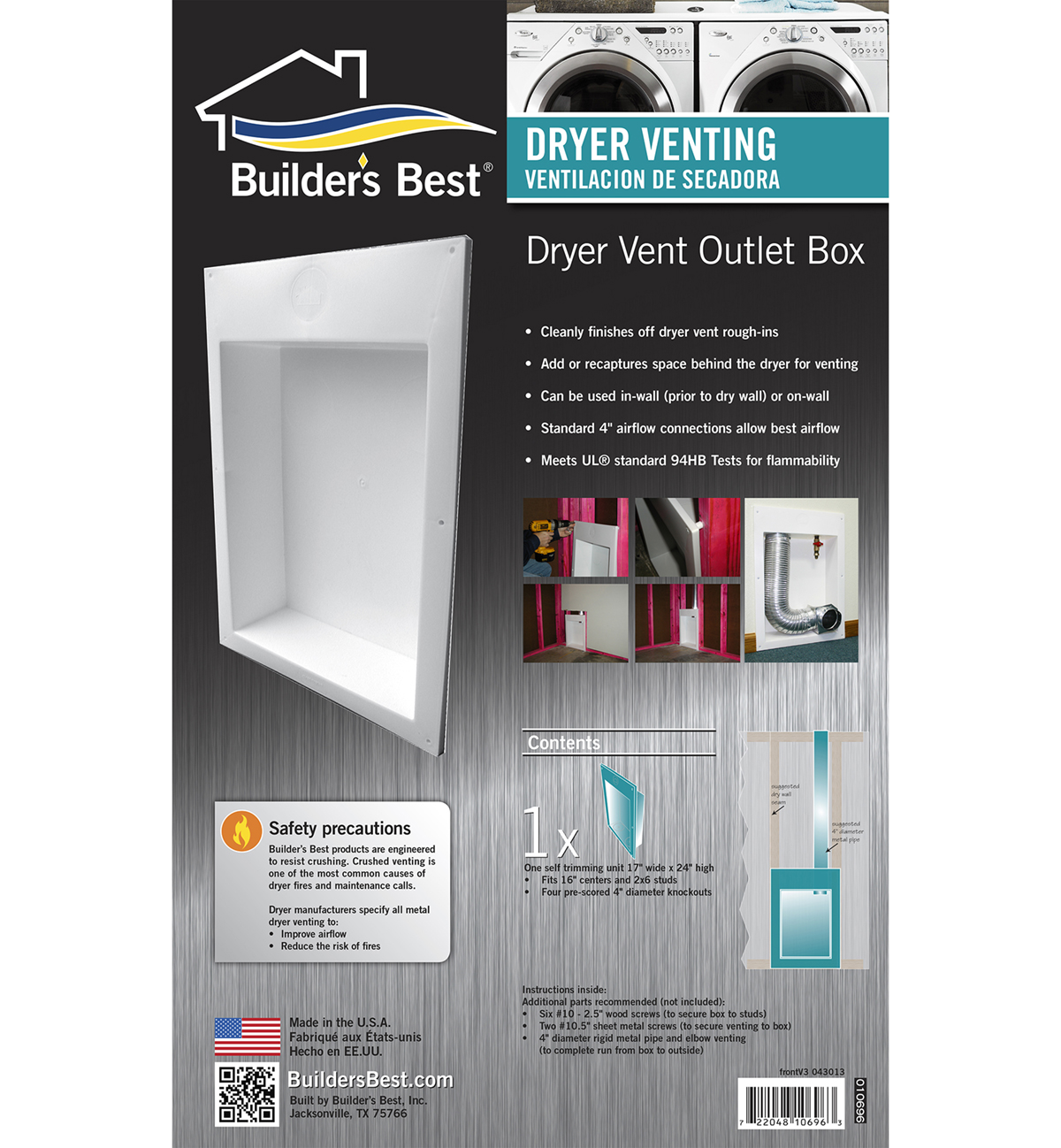 Dryer Outlet Box Builder S Best