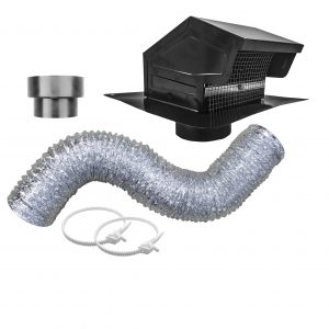 Exhaust Vent Kit with GRV635 Roof Cap