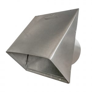 AWM630 Aluminum Heavy Gauge Hood with Spring Flapper