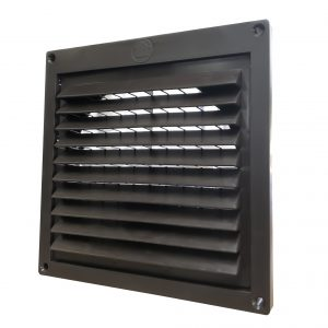 "PFL342 Mini Louver Hood with 1/2"" grid"